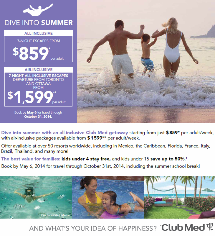 Club Med Vacations Get Cheap Club Med Vacations To