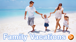 Family Vacations Banner