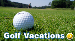 Golf Vacations Banner
