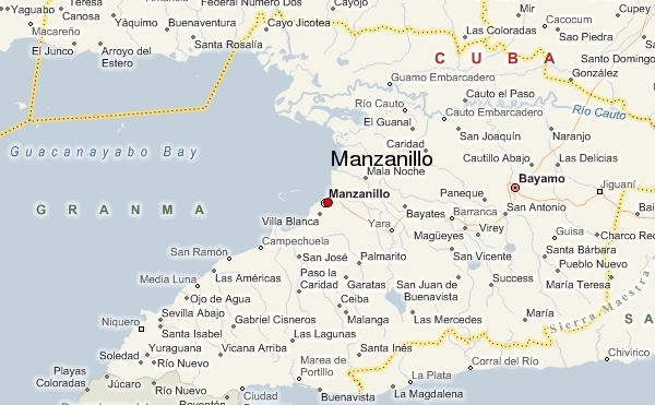 Manzanillo Map