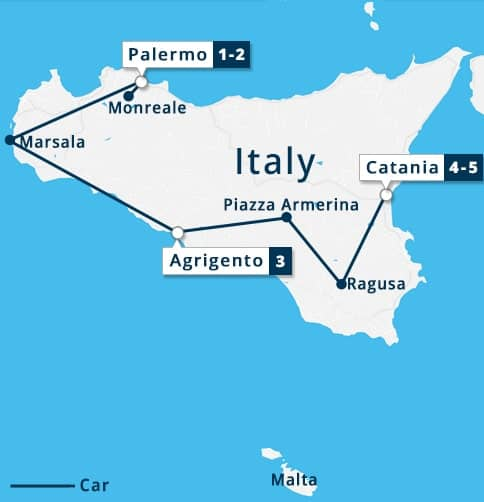 4 nights Short Stay in Sicily Tour | Palermo - Marsala ...